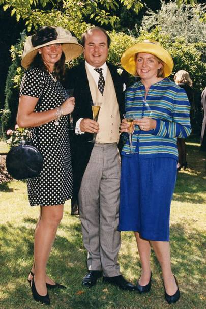 Nikki Walker, Henry Simmonds and Mrs Henry Simmonds