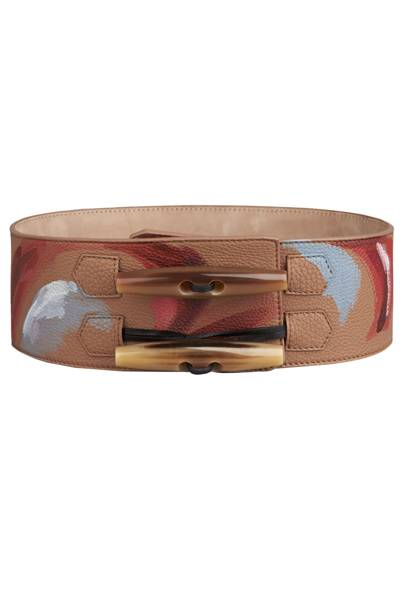 Leather belt, £695 by Burberry