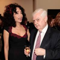 Mouna Rebeiz and Lord Lamont