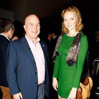 Andrew Paulson and Lily Cole