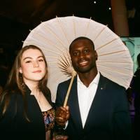 Emilia Mackay and Kobby Thomas
