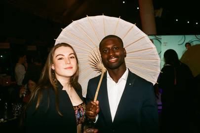 Emilia Mackay and Kobby Thomas
