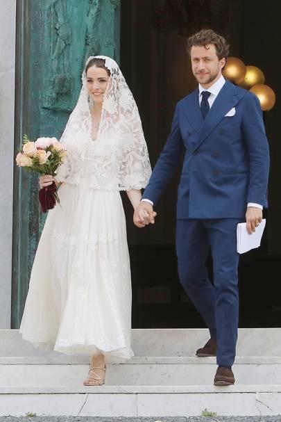 Bee Shaffer Chose Dolce Gabbana For Her Second Wedding Dress