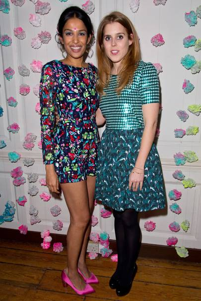 Saloni Lodha and Princess Beatrice