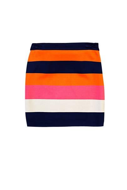 Skirt, £165, by Diane von Furstenberg