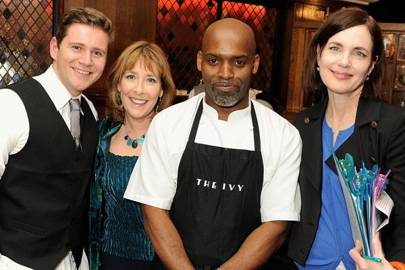 Allen Leech, Phyllis Logan, Gary Lee and Elizabeth McGovern