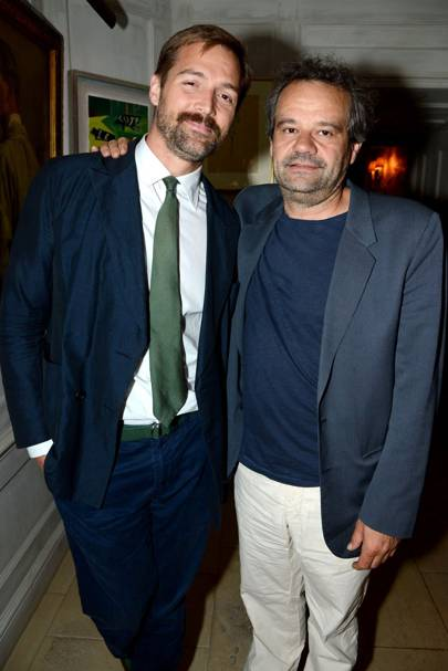 Patrick Grant and Mark Hix