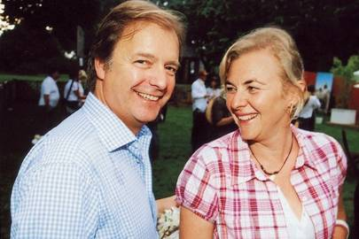 Hugo Swire and Countess Manfredi Della Gherardesca