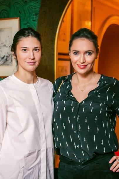 Evgenia Andurand and Sasha Volkova