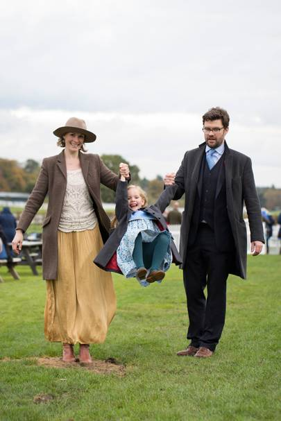 Lara Curry, Beatrice Curry and Oliver Curry
