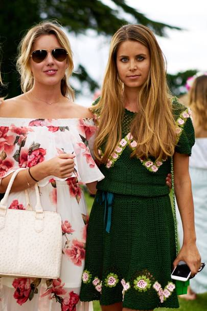Caggie Dunlop and Irene Forte