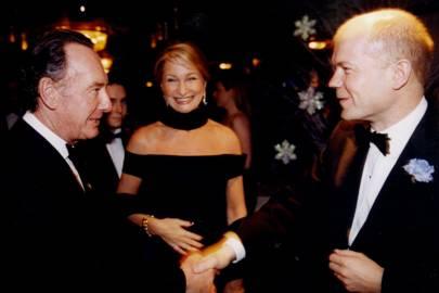 Alan Sutherland, Mrs Alan Sutherland and William Hague
