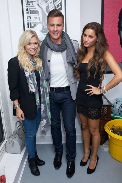 Anastasia Jourrou, Suzanne Shaw and Matt Evans