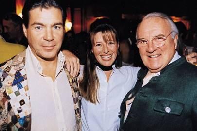 Hugo de Ferranti, Mrs Nick Bromley-Davenport and Sebastian de Ferranti