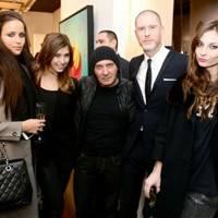 Ekaterina Kitaina,Tiziana Farkas, Gérard Rancinan, Jean-David Malat and Veronika Molnar
