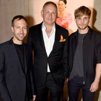Peter Pilotto, John Demsey and Christopher de Vos