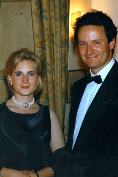 Elyssa Edmonstone of Duntreath and Archduke Sigismund, Grand Duke of Tuscany