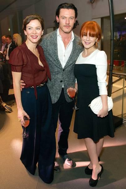 Anna Friel, Luke Evans and Sheridan Smith