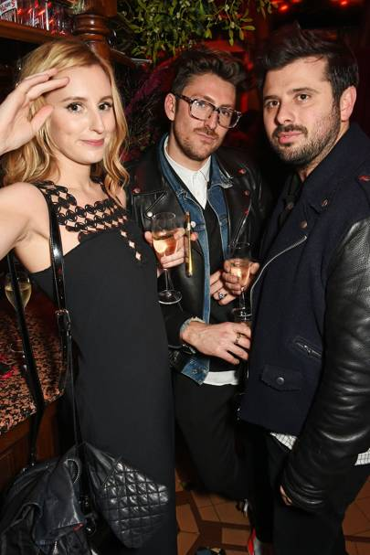 Laura Carmichael, Henry Holland and David Hodgson