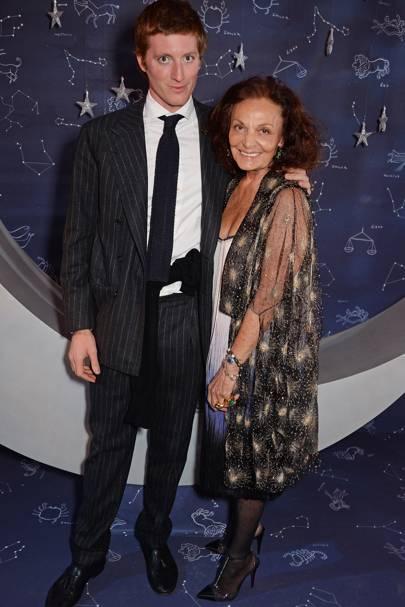 Marcantonio Brandolini D'Adda and Diane von Furstenberg