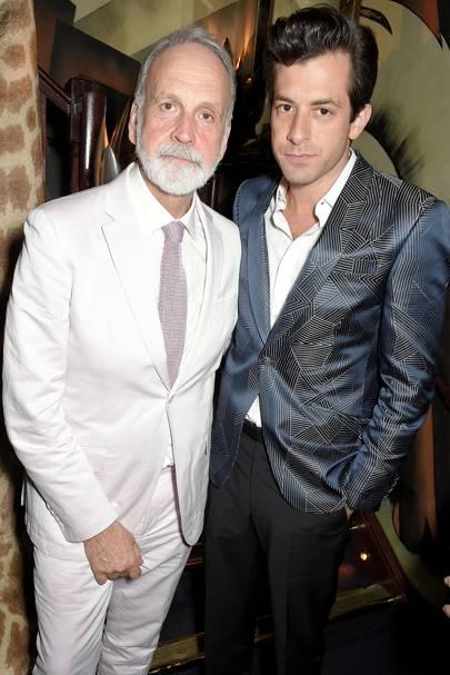 Richard James and Mark Ronson