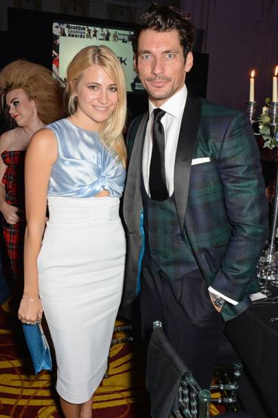 Pixie Lott and David Gandy