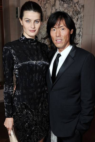 Isabeli Fontana and Stephen Gan