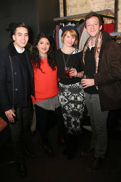 Ross Bailey, Chayya Gill, Yasmin Everley and Henry Graham