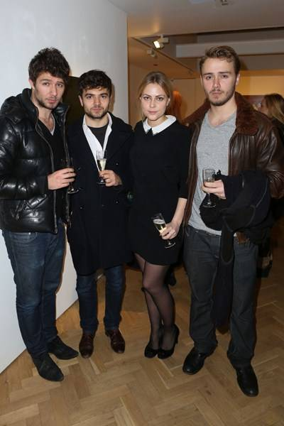 Marco Verazzo, Johnny Verazzo, Annika Ancverina and James Nianias
