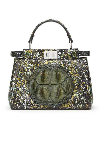 Crocodile & python bag, £4,580, by Fendi
