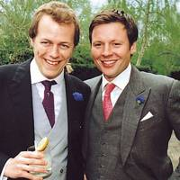 Duncan Westbrook and Tom Parker Bowles