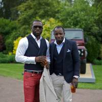 Harvey Mbala and Sheriff Olujide