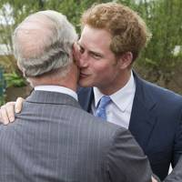 Prince Harry and The Prince of Wales