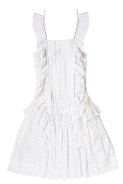 Cotton dress, £947, by Just Cavalli