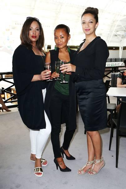 Siobhan Copland, Kunita Hoole and Gaia Beck