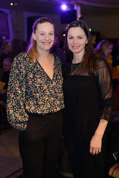 Romola Garai and Rebecca Night