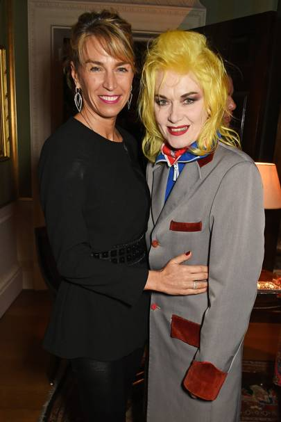 Anastasia Webster and Pam Hogg