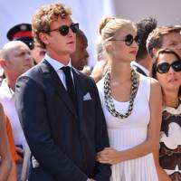 Pierre Casiraghi and Beatrice Borromeo