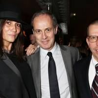 Emmanuelle Alt, Xavier Romatet and Jonathan Newhouse