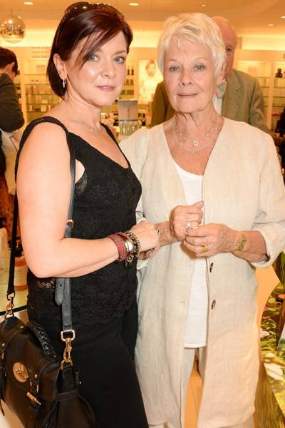Finty Williams and Dame Judi Dench