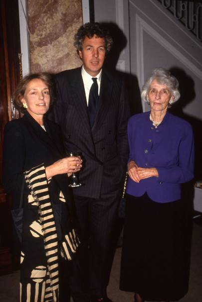 Melissa Wyndham, Henry Wyndham and the Hon Mrs Anne Wyndham