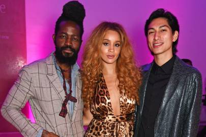 Roy Luwolt, Jillian Hervey and Lucas Goodman