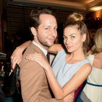 Derek Blasberg and Jessica Hart