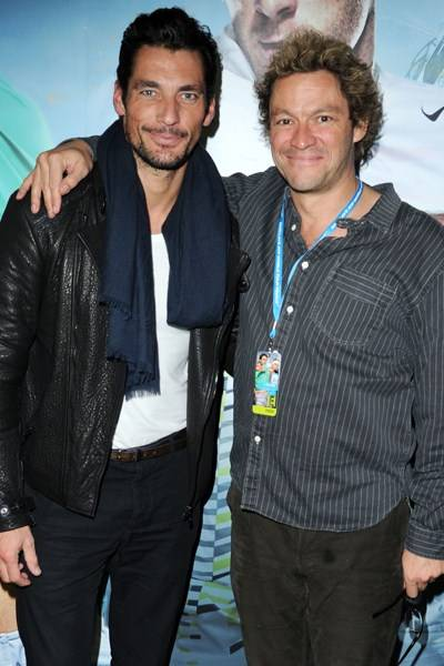David Gandy and Dominic West