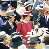 Brigadier Andrew Parker Bowles and the Princess Royal