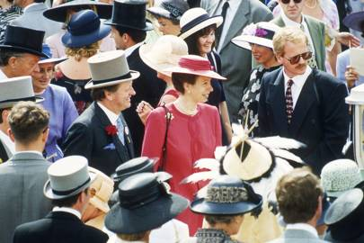Brigadier Andrew Parker Bowles and the Princess Royal