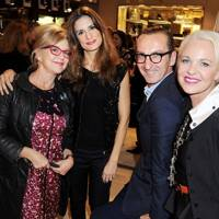 Kay Saatchi, Livia Firth, Bruno Frisoni and Amanda Eliasch