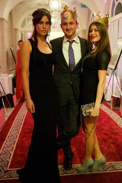 Lily Robinson, Francis Boulle and Rebecca Hoffnung
