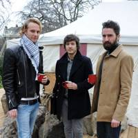 Jack Fox, Alexander Vlahos and Jack Guinness