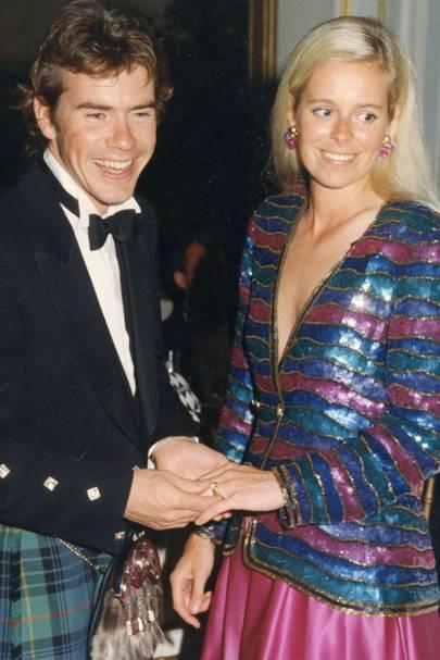 Paul Stewart and Mrs Paul Stewart